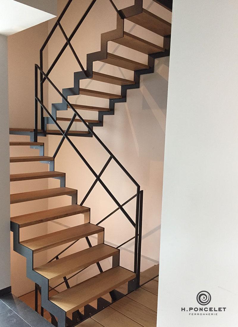 Barriere Escalier En Colimaçon ferronnerie h.poncelet